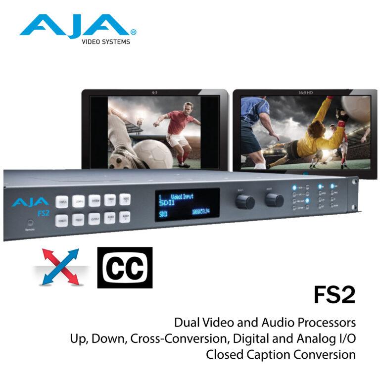 AJA FS2 Frame sync