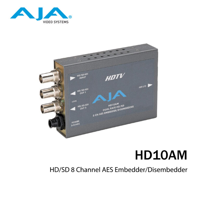 AJA HD10AM Cover