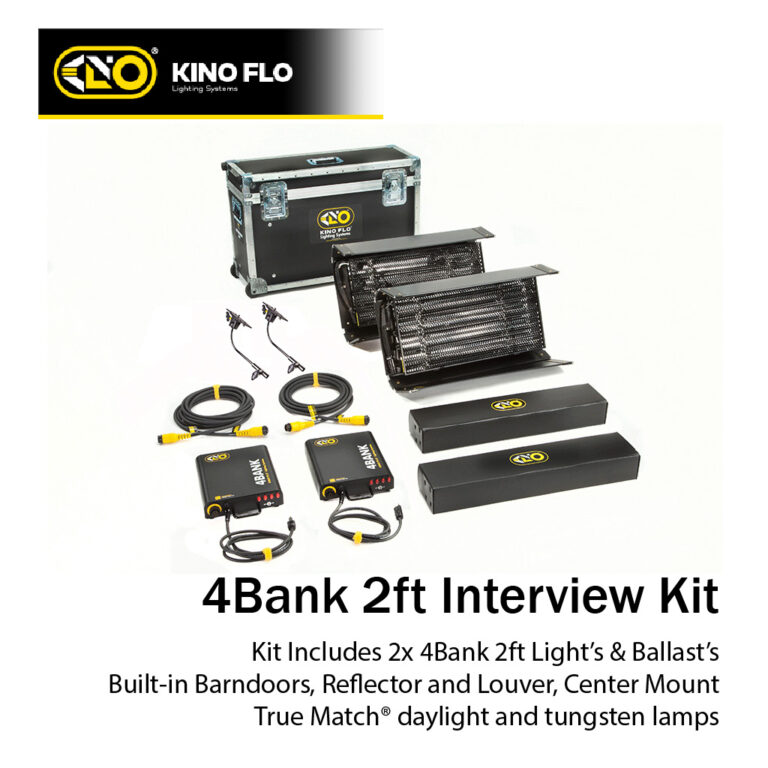 Kino Flo Interview Kit
