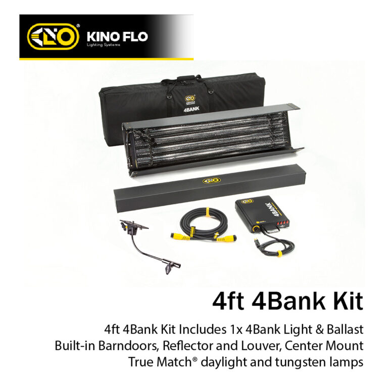 Kino Flo 4ft 4Bank Kit