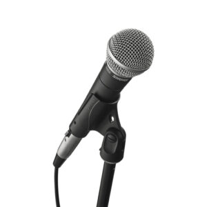 SN58 on Microphone stand