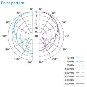 e 845 Polar Pattern