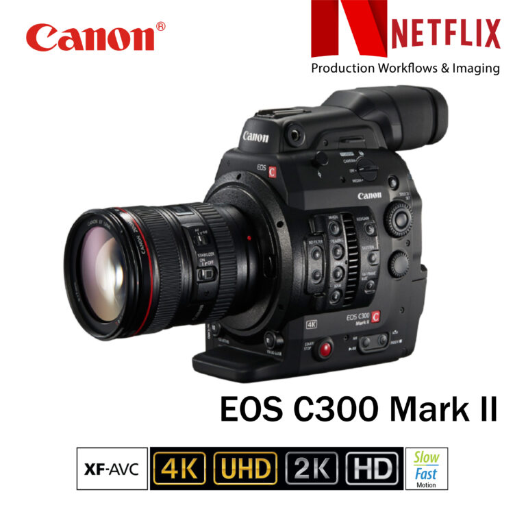 EOS Canon C300 Mark 2