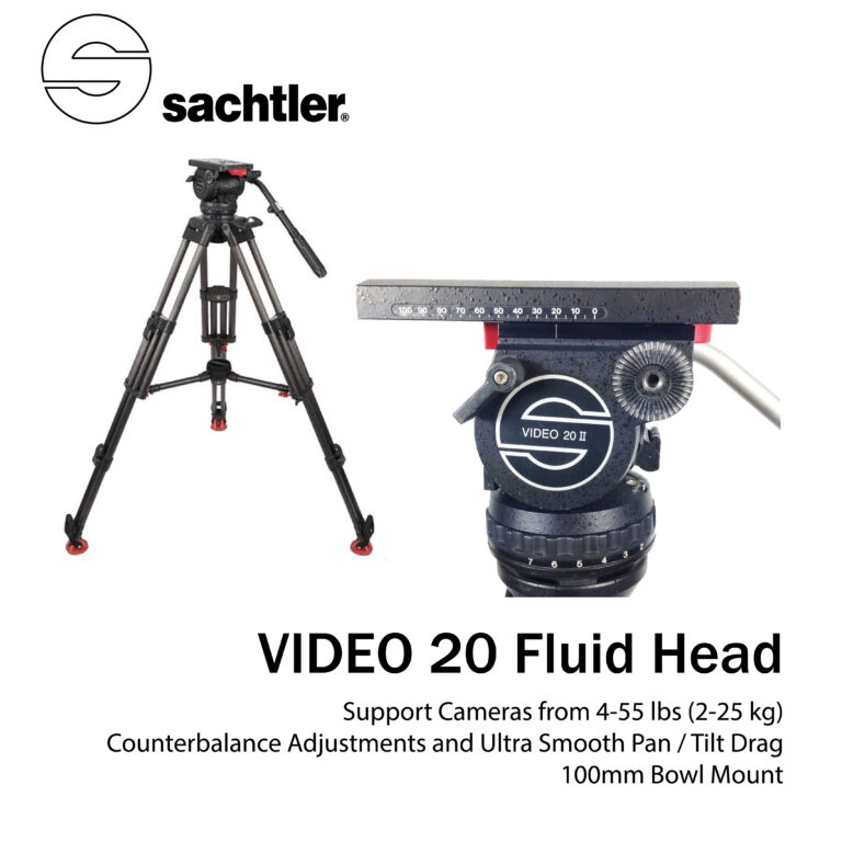 Video 20 Fluid Head