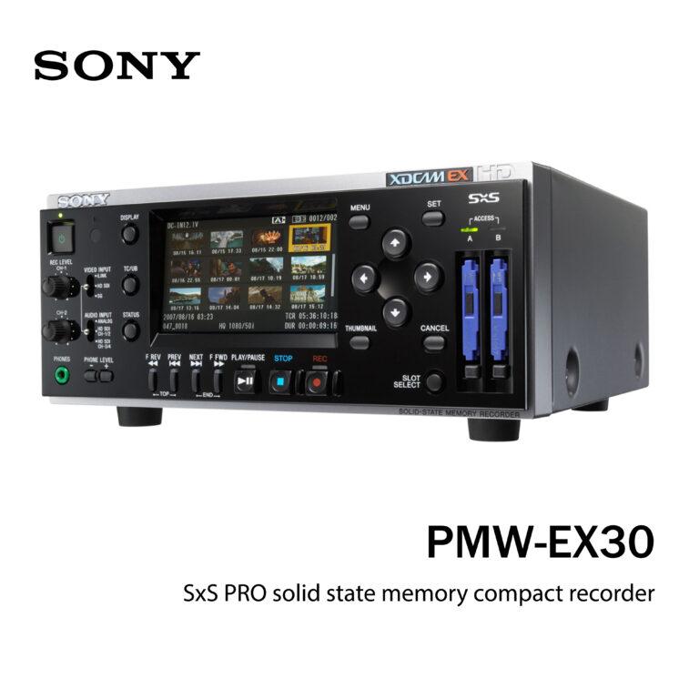 Sony SxS recorder