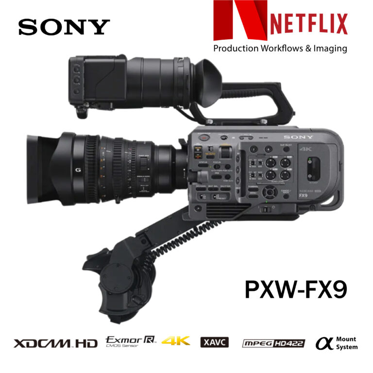 PXW-FX9 Netflix Approved