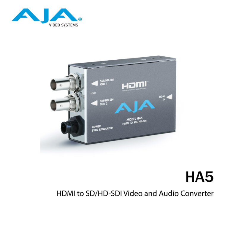 AJA HA5