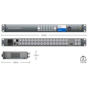 Multiview 16 DIMS