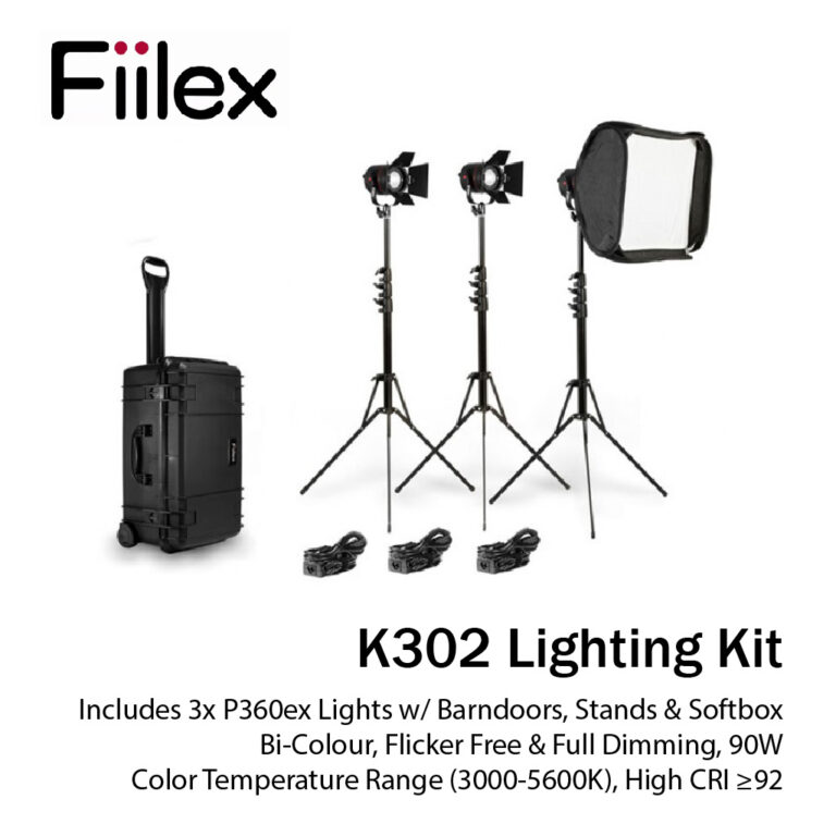 Digital Creator Package Camera Fiilex K302