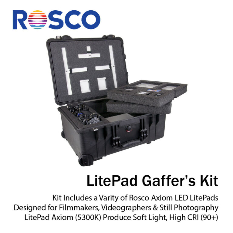 Rosco LitePad Gaffer's Kit