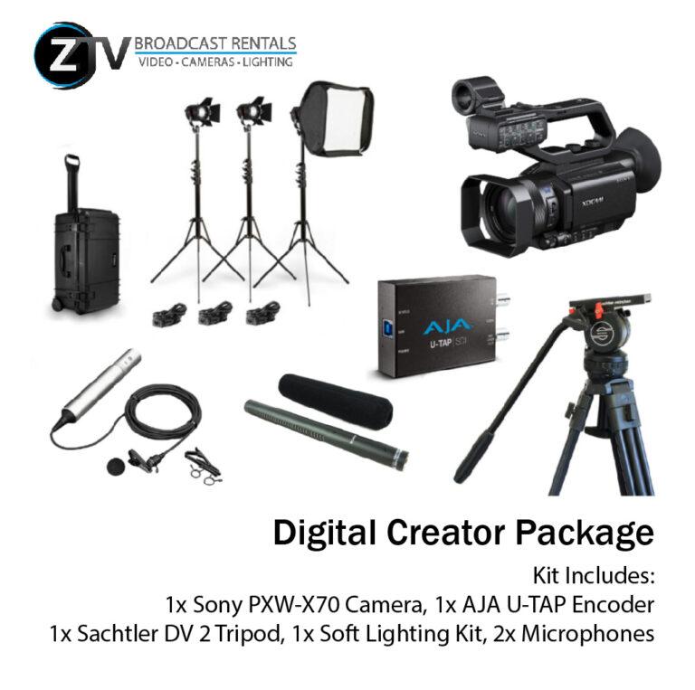 Digital Creator Package